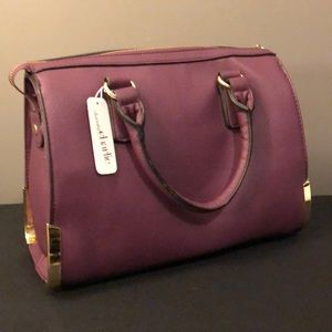 Charming Charlie Boutique Plum Handbag